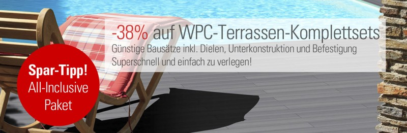 Turbo WPC Terrassendielen FANO UltraShield VT38