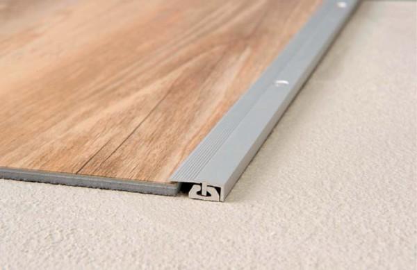 Bodenprofil CAVUM Abschluss 4-7 mm, 2-teilig, sandfarben