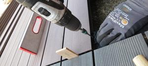 WPC-Terrassendielen selber verlegen - unsere Anleitung
