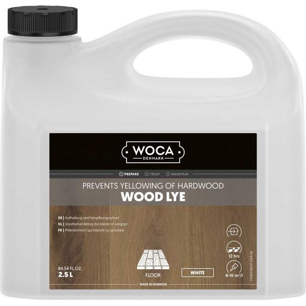 WOCA Holzlauge Weiß, Inhalt: 2,5 Liter