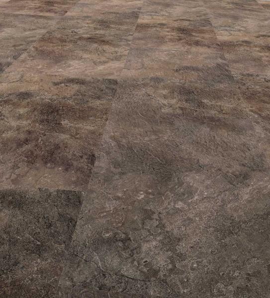 Allstars Designboden mineralisch Fliesenoptik Nero, Corus-Lackierung