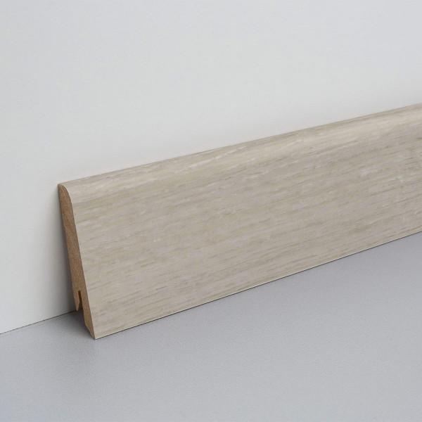 Floor Experts Laminat Sockelleiste foliert Eiche Felsgrau L8461 15x60x2500mm