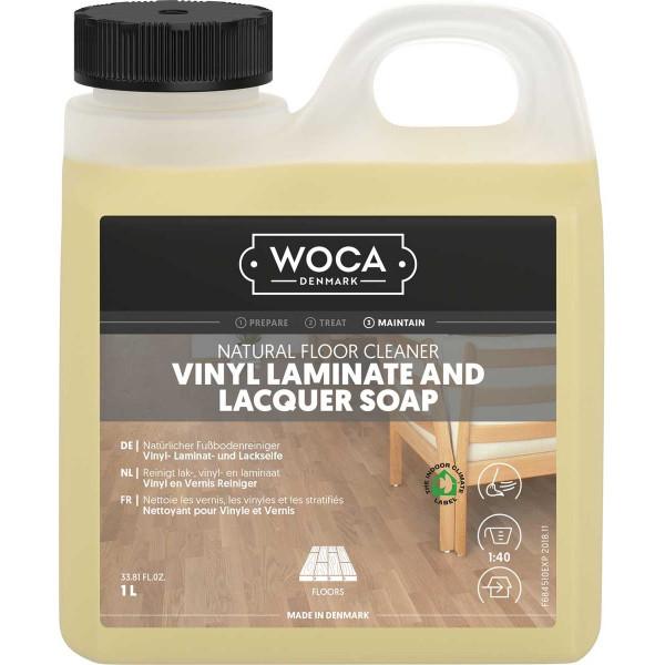 WOCA Vinyl-, Laminat- und Lackseife, Inhalt: 1 Liter
