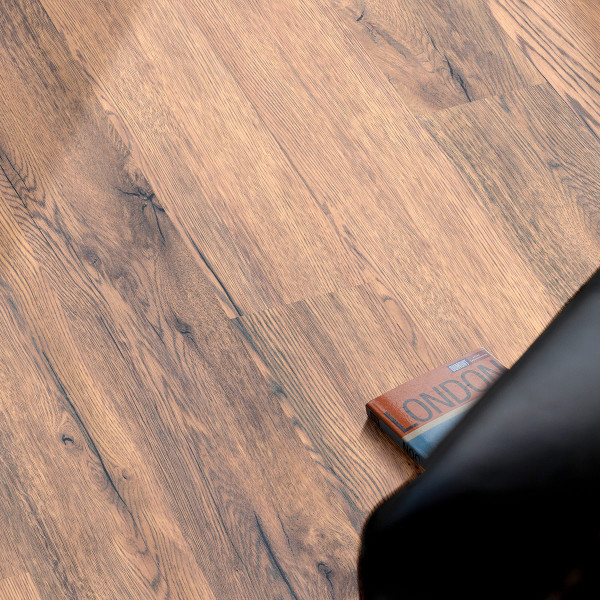 Floor Experts Standard Laminat Landhausdiele Eiche Rustikal Natur K392