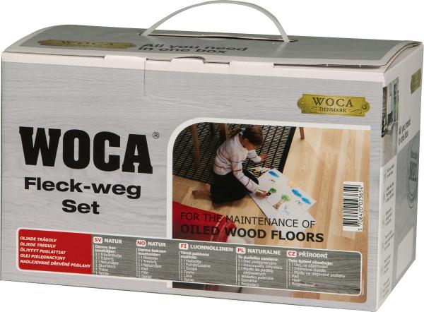 WOCA Fleck-Weg-Set für geölte Oberflächen