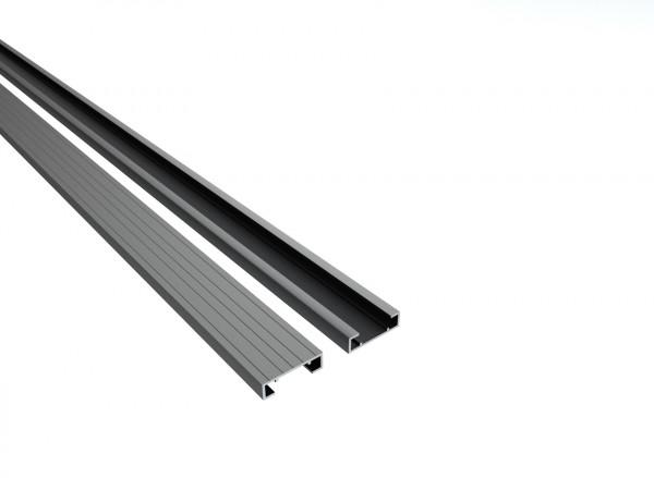 Qwickbuild Aluminium Unterkonstruktion 13 x 45 x 5400/ 5800 mm