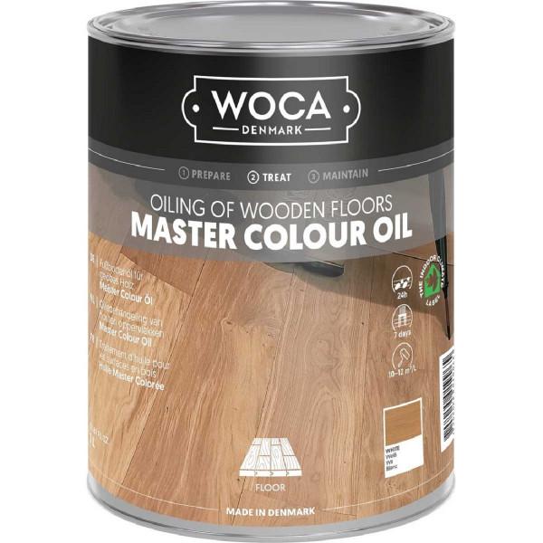 WOCA Meister Colour Öl Weiss, Inhalt: 1 Liter