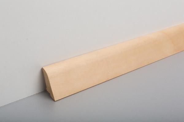 Sockelleiste furniert MSF 40 Birke geölt 19x39x2500mm