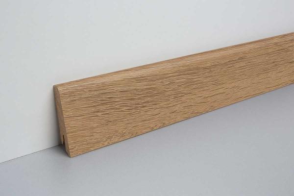 Laminat Sockelleiste foliert mit MDF-Kern Waltham Eiche natur 17x60x2400mm
