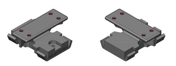 Twinson Kunststoff Montageclips für Aluminiumunterkonstruktion