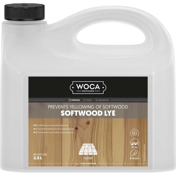WOCA Weichholzlauge Softwood, Inhalt: 2,5 Liter
