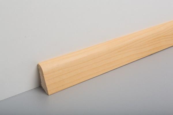 Bodenleiste furniert MHF 45 Kiefer/Fichte lackiert