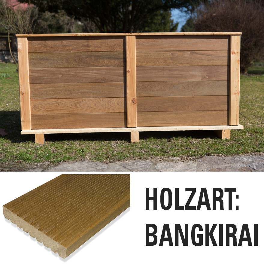 hochbeet bangkirai holz hochbeete garten meyer. Black Bedroom Furniture Sets. Home Design Ideas