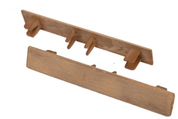 Endkappen Bernstein für WPC Stärke 25 mm