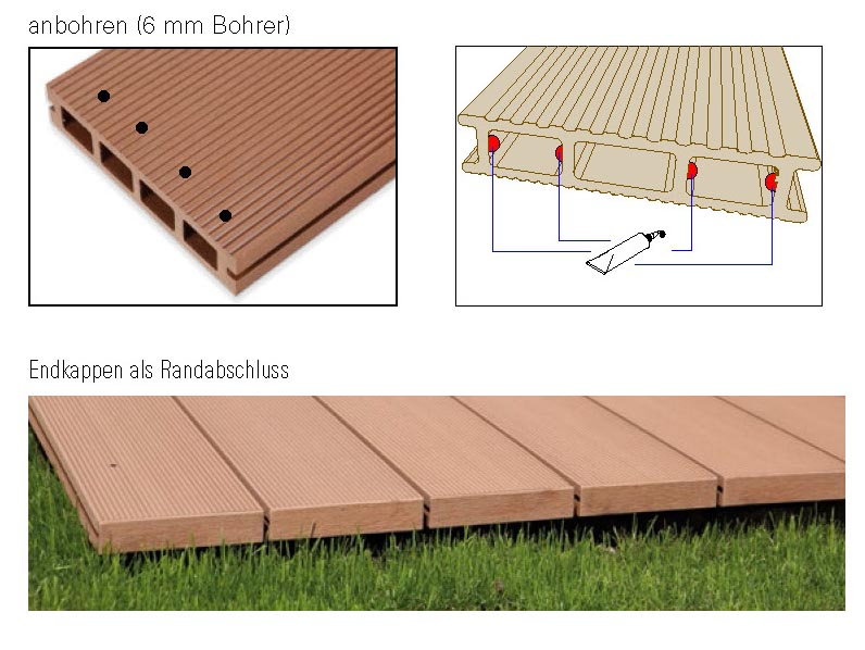 Lieblings WPC-Terrassendielen selber verlegen - unsere Anleitung | Terrasse #WD_07