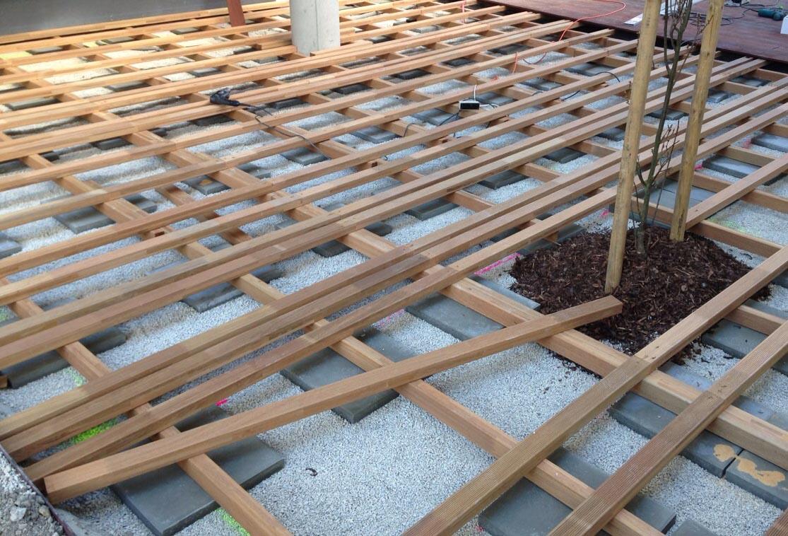 Richtiger Aufbau der Terrassen-Unterkonstruktion