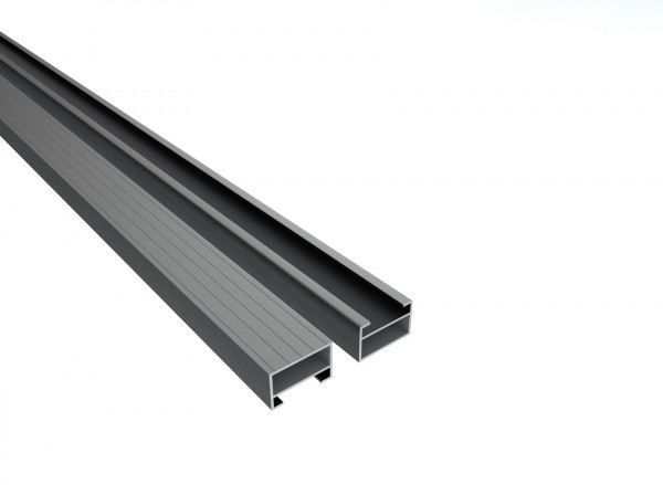 Qwickbuild Aluminium Unterkonstruktion 28 x 45 x 5400 mm