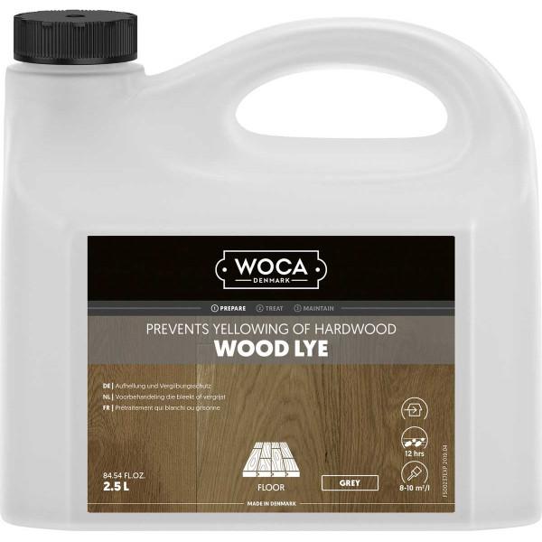 WOCA Holzlauge Grau, Inhalt: 2,5 Liter