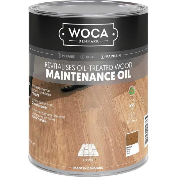 WOCA Maintenance Pflegeöl Braun, Inhalt: 1 Liter