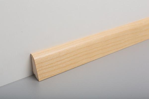 Sockelleiste furniert MSF 40 Eiche Weiß lackiert 19x39x2500mm