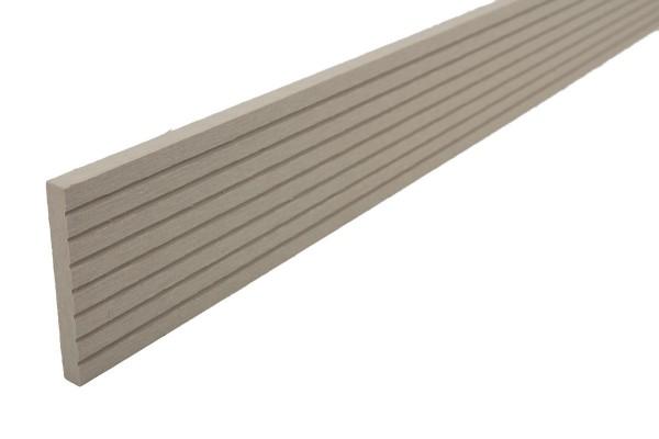 Abdeckleisten Elfenbein für WPC Stärke 25 mm