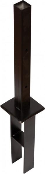 Sichtschutz Säulenanker mit Metalldorn