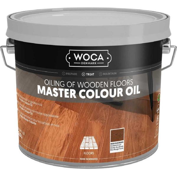 WOCA Meister Colour Öl Dunkelrotbraun Nr. 106, Inhalt: 2,5 Liter