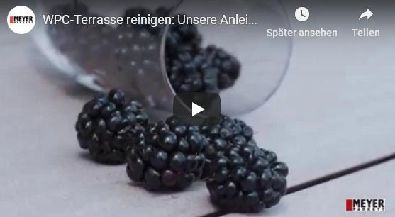 Video: WPC-Terrasse reinigen - unsere Anleitung