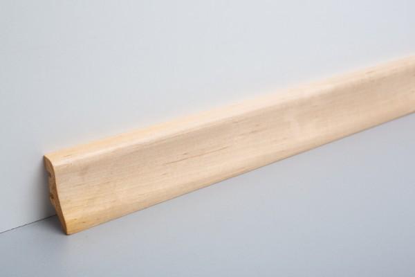Bodenleiste furniert MFL 40 Ahorn lackiert