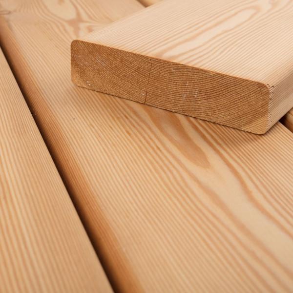 FANO Holz Terrassendiele Lärche sibirisch 34 mm, glatt