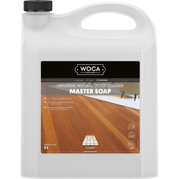 WOCA Commercialseife Meisterseife Natur, Inhalt: 5 Liter