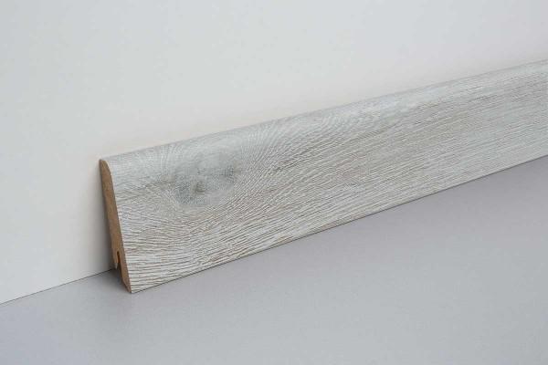 Laminat Bodenleiste foliert MDF-Kern Villanger Eiche bunt