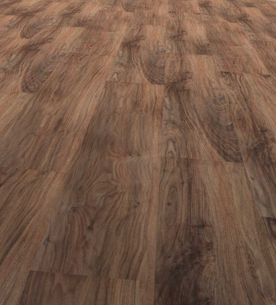 Vinfloors Plank 25 Klebe-Vinylboden Landhausdiele 1-Stab Walnuss Classic