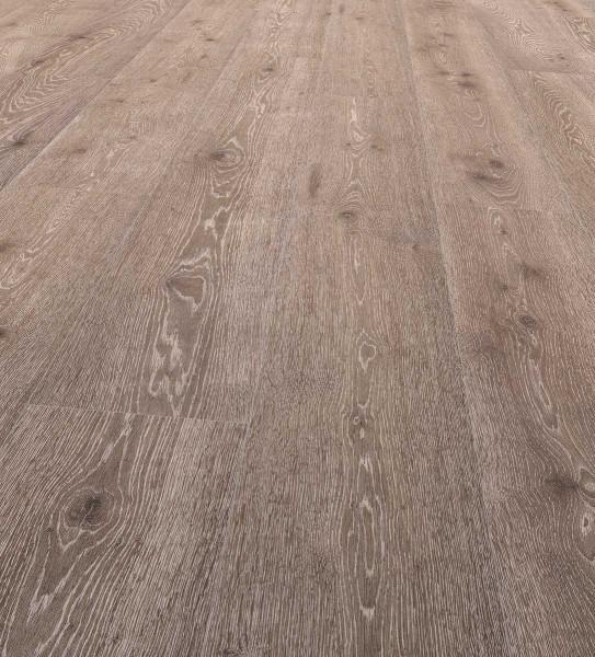 EGGER PRO Comfort Long Korkboden Landhausdiele 1-Stab Taunton Eiche dunkel EPC008, lackiert