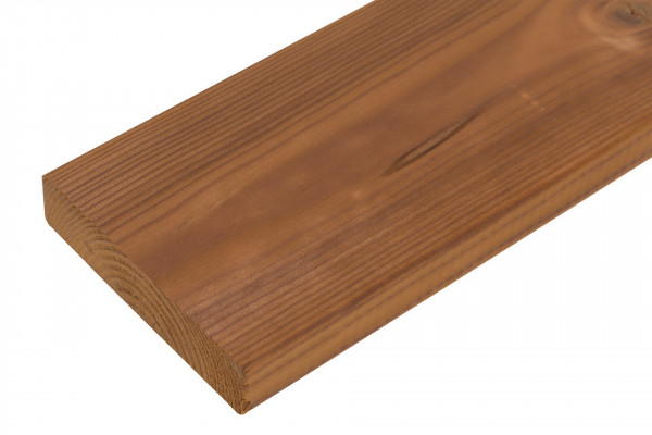 FANO Holz Abschlussblende Thermo-Kiefer, glatt