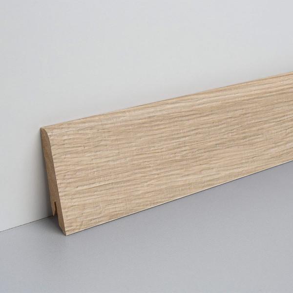 Floor Experts Laminat Sockelleiste foliert Eiche Louvre L8714 15x60x2500mm