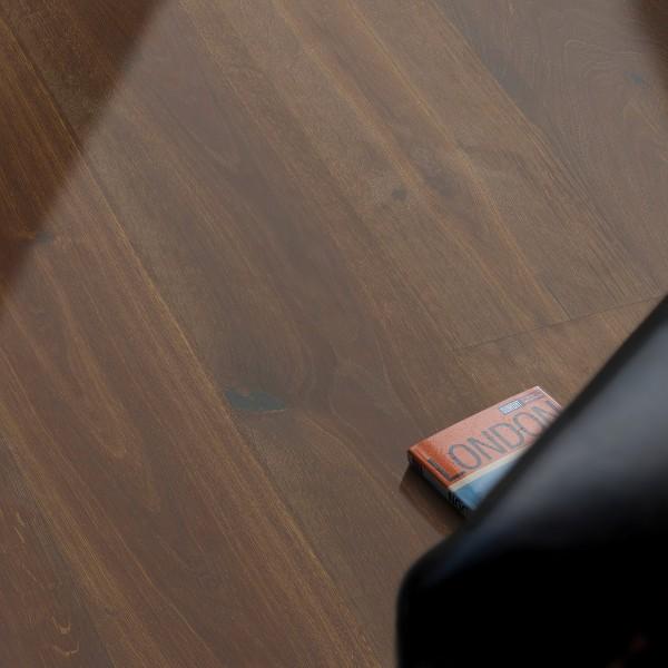 Imperium King Parkett Landhausdiele 1-Stab Eiche Astig Tabacco, geölt-gewachst, 3D-Reliefoberfläche