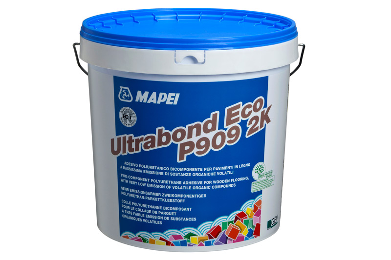 mapei ultrabond eco p909 2k pu kleber 10 kg verklebung von mehrschicht und massivparkett. Black Bedroom Furniture Sets. Home Design Ideas