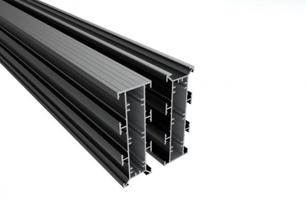 Qwickbuild Aluminium Unterkonstruktion 135 x 45 x 5400 mm
