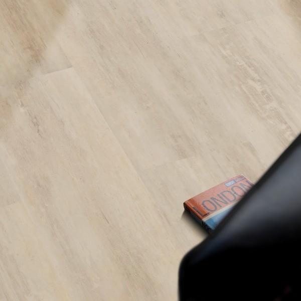 VinFloor Vinylboden Stonewood creme Steindekor