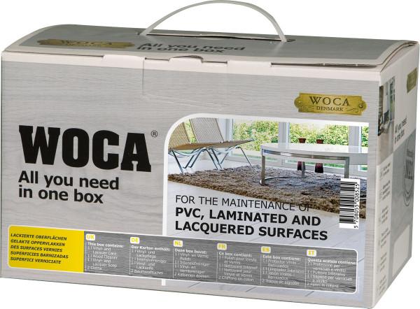 WOCA Pflegebox für Vinyl, Laminat und lackierte Oberflächen