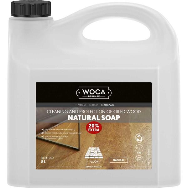 WOCA Bodenseife Natur, Inhalt: 3 Liter