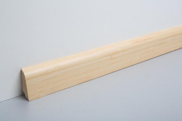 Sockelleiste furniert MSF 40 Bambus Light lackiert 19x39x2500mm