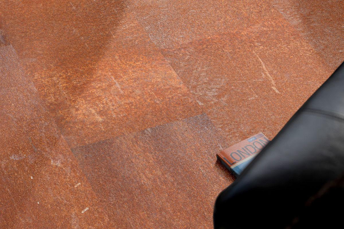 allstars designboden mineralisch design roststahl corus lackierung