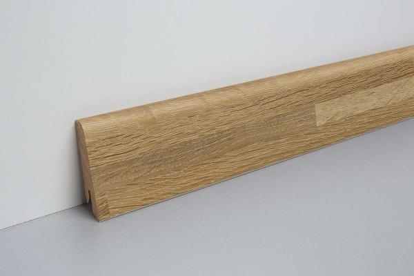 Laminat Sockelleiste foliert mit MDF-Kern Eureka Wood 17x60x2400mm