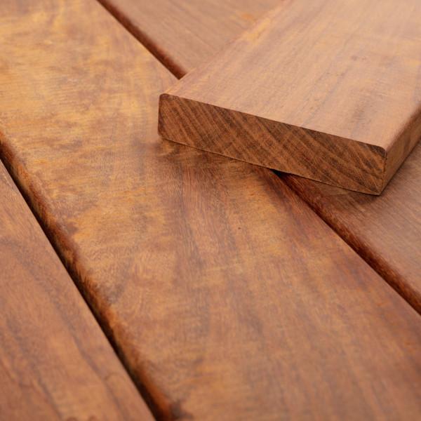 FANO Holz Terrassendiele Ipe, glatt 3050 bis 5790 mm
