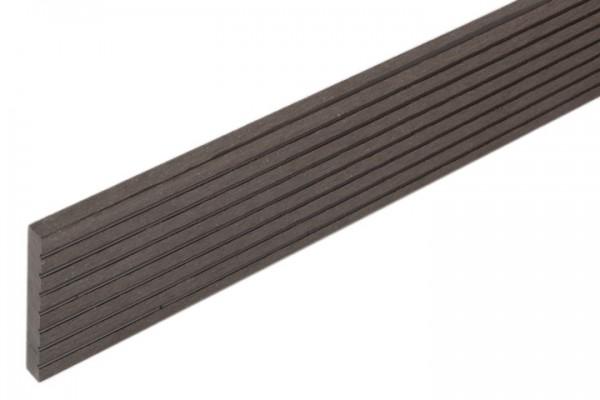 Abdeckleisten dunkel-anthrazit für WPC Stärke 21 mm