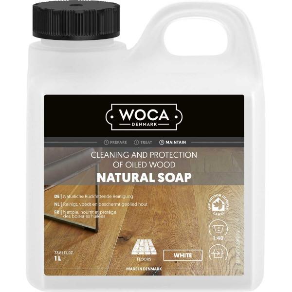 WOCA Bodenseife Weiß, Inhalt: 1 Liter