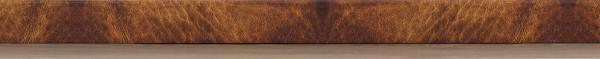 Designleiste Leder hell, mit MDF-Kern, digital bedruckte Folie