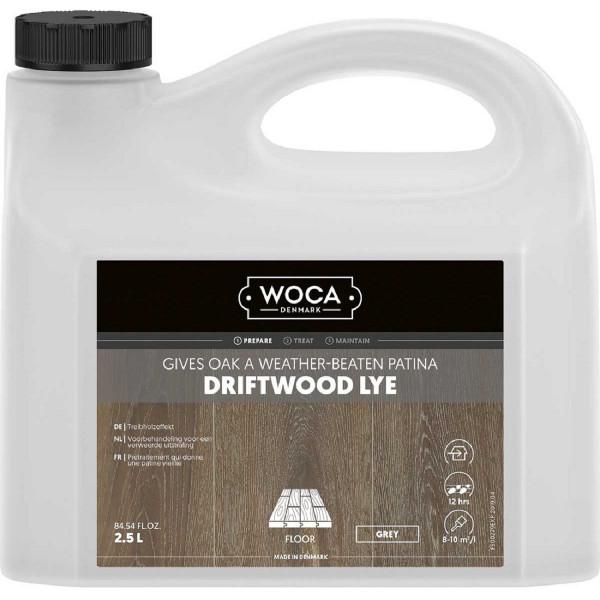 WOCA Treibholzlauge Grau, Inhalt: 2,5 Liter